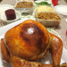 whoa! there's a turducken on the table!