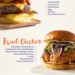 7 gourmet burger recipes {infographic}