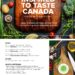 {event} inspired to taste canada events