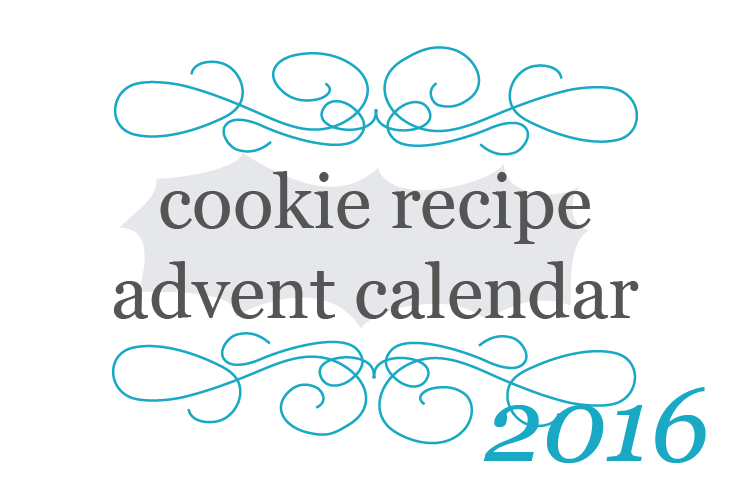 2016 kitchen frolic Cookie Recipe Advent Calendar