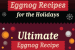 Eggnog Recipes for the Holidays {infographic}