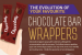 How Chocolate Wrappers Evolved Over the Years {infographic}