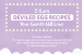 5 Easy Deviled Egg Recipes {infographic}