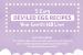 5 Easy Deviled Egg Recipes {infographic}